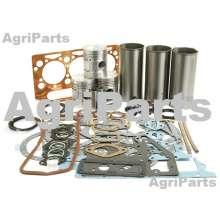 Motorrenoveringssæt - uden ventiler, MF35 3 Cyl. Diesel