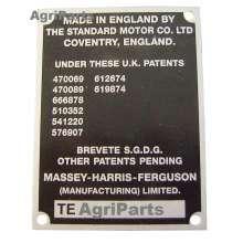 Typeplade TEA20/TEF, 1953 - 1956